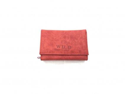 104 damska cervena penezenka wild