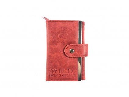 Malá dámská peněženka - vínová (Barva Vínová)