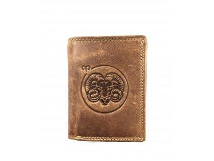 Kožená peněženka zvěrokruh - beran
