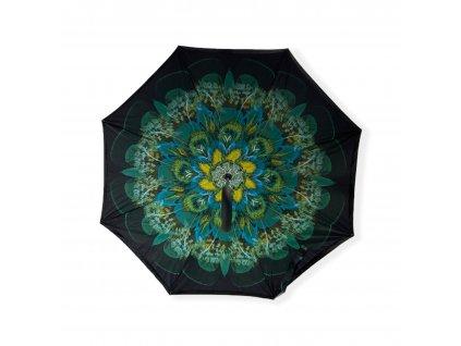 Obrácený deštník - květina