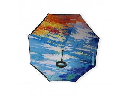 Obrácený deštník - barvy