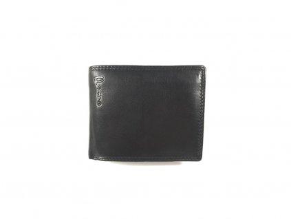 Kvalitní kožená peněženka Pedro - černá