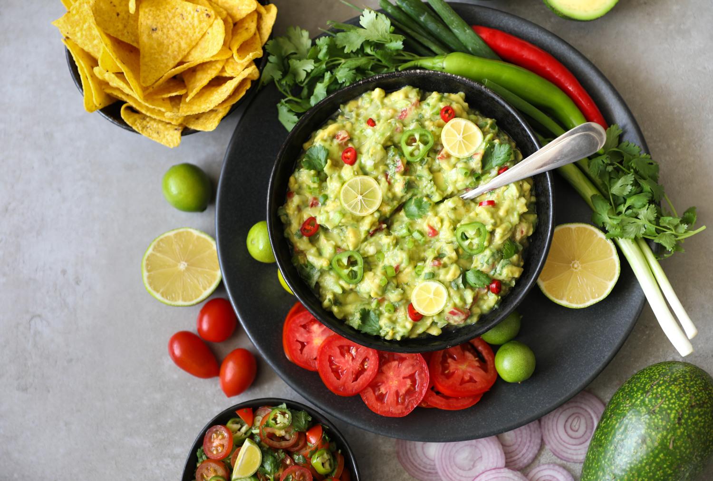 Avokádové guacamole