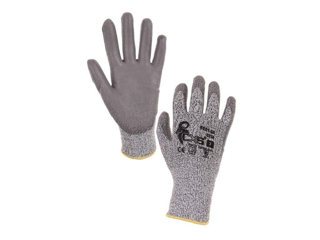 Protipořezové rukavice CITA, šedé