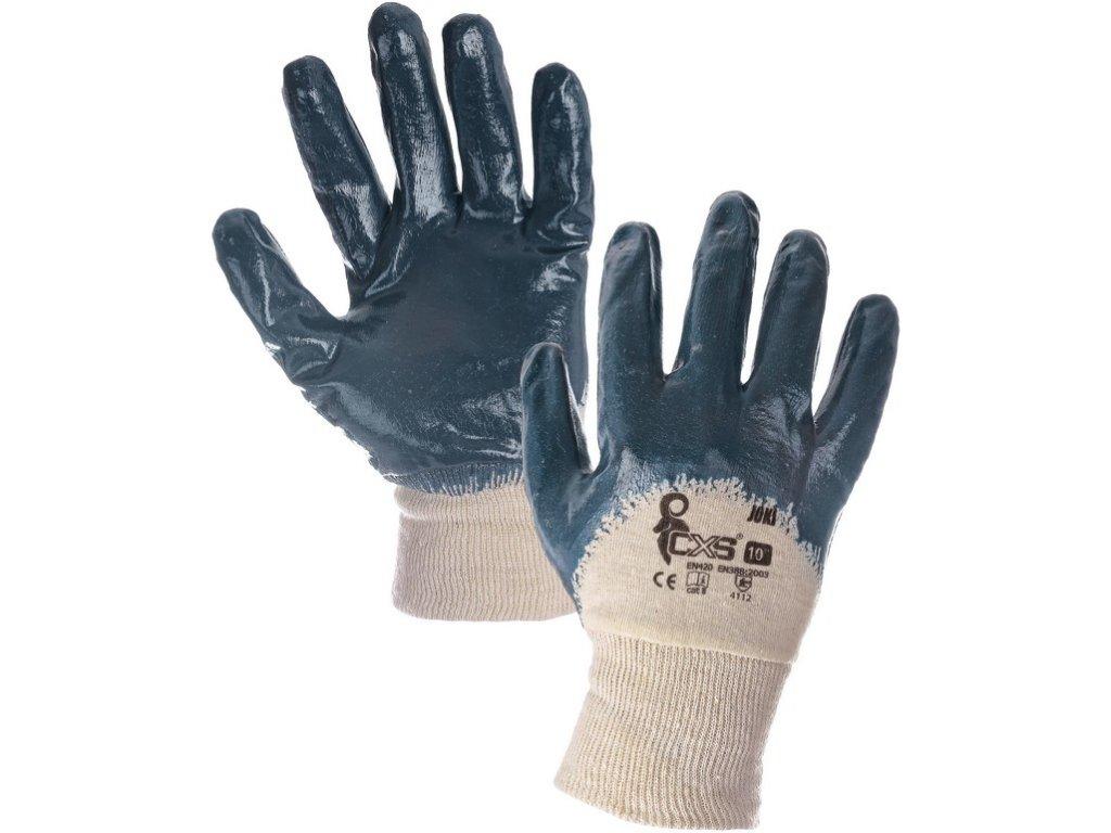 Povrstvené rukavice JOKI, modré