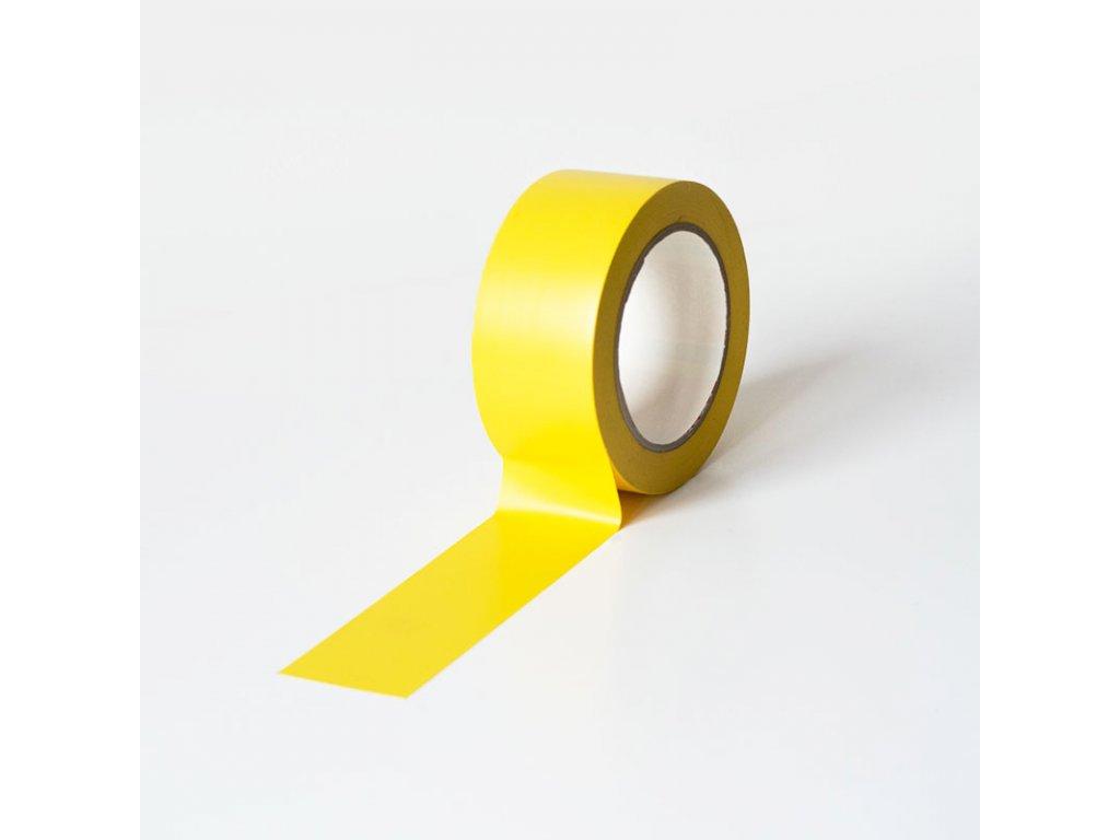 Podlahová vyznačovací páska 50 mm x 33 m - žlutá