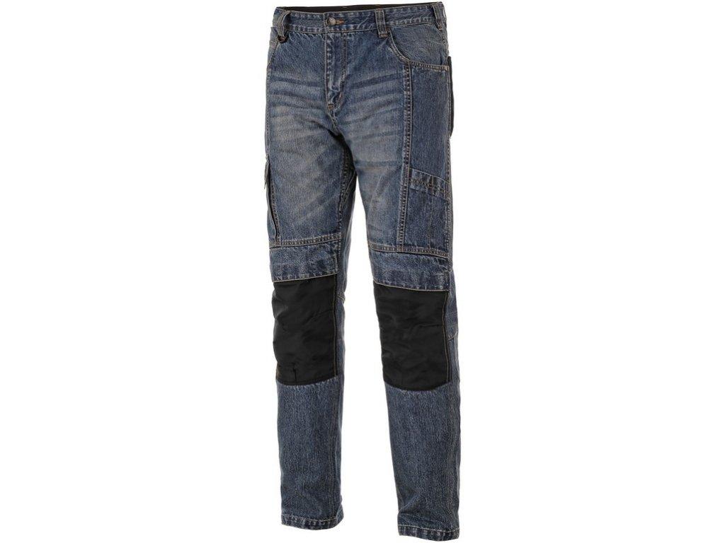 Kalhoty jeans NIMES, pánské, modré