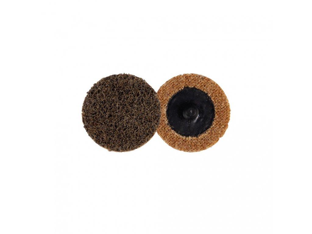 Kotouč brusný Roloc 50mm, lisovaná textilie hrubá, Coarse