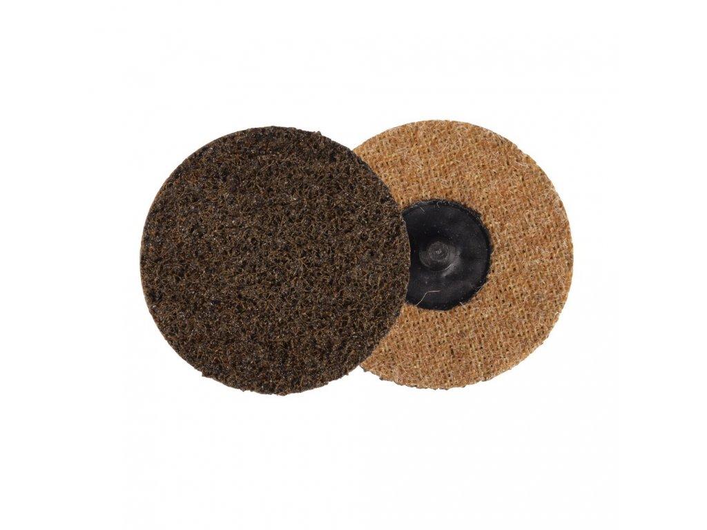 Kotouč brusný Roloc 75mm, lisovaná textilie hrubá, Coarse