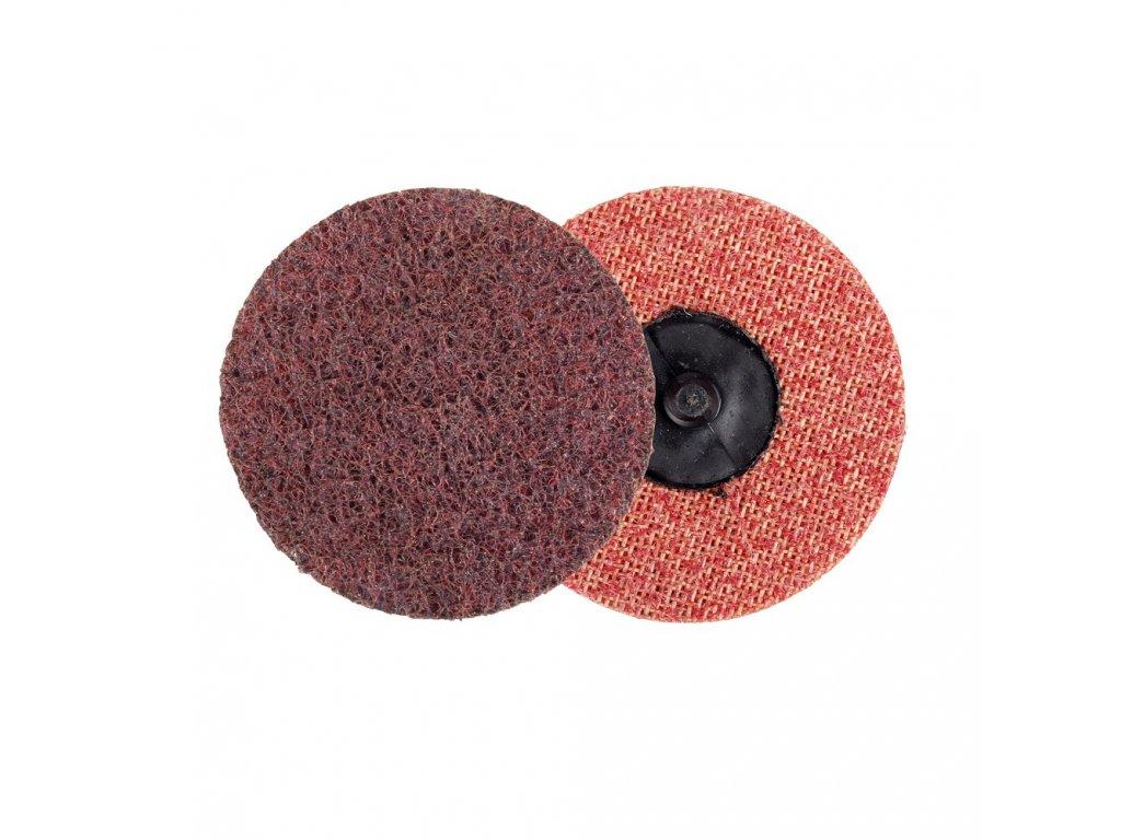 Kotouč brusný Roloc 75mm, lisovaná textilie střední, Med