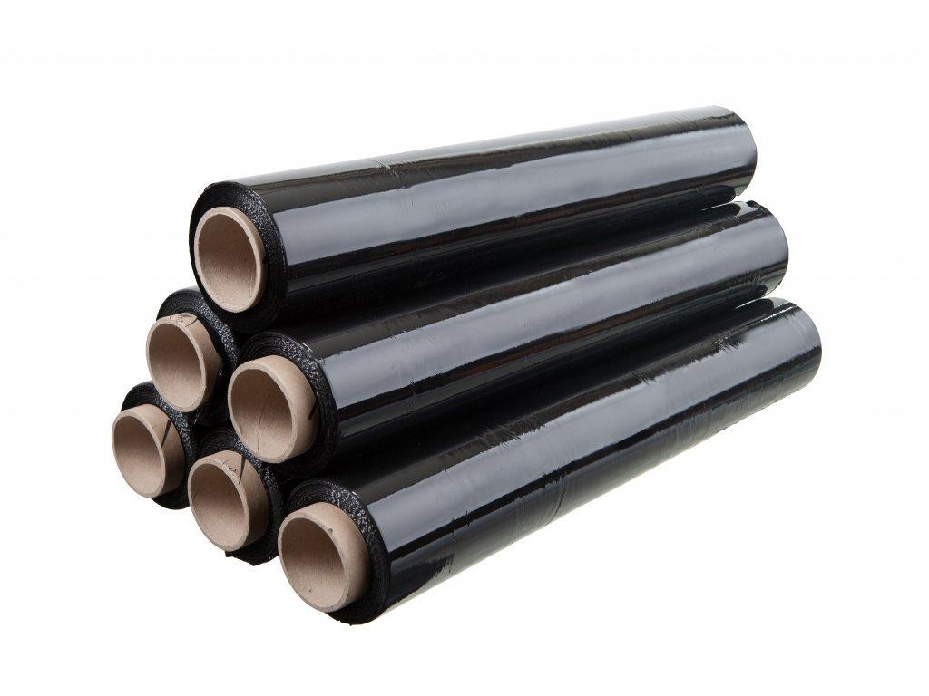Ruční stretch fólie černá 500 / 23 µm, 115m