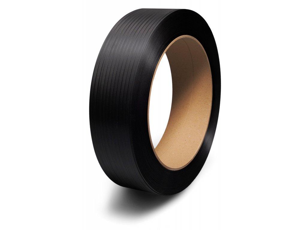 PP páska vázací 15x0,8 D406 černá, 1500 m