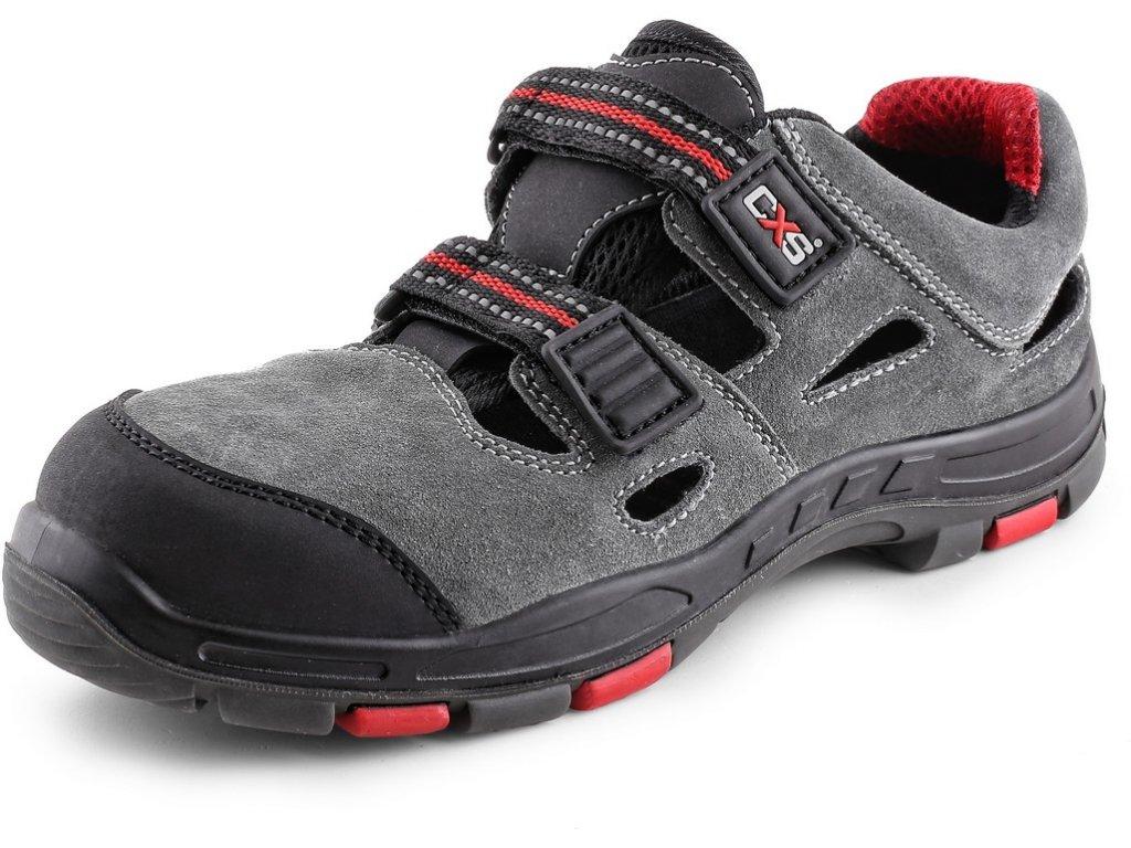 Obuv sandál CXS ROCK PHYLLITE S1P, šedá