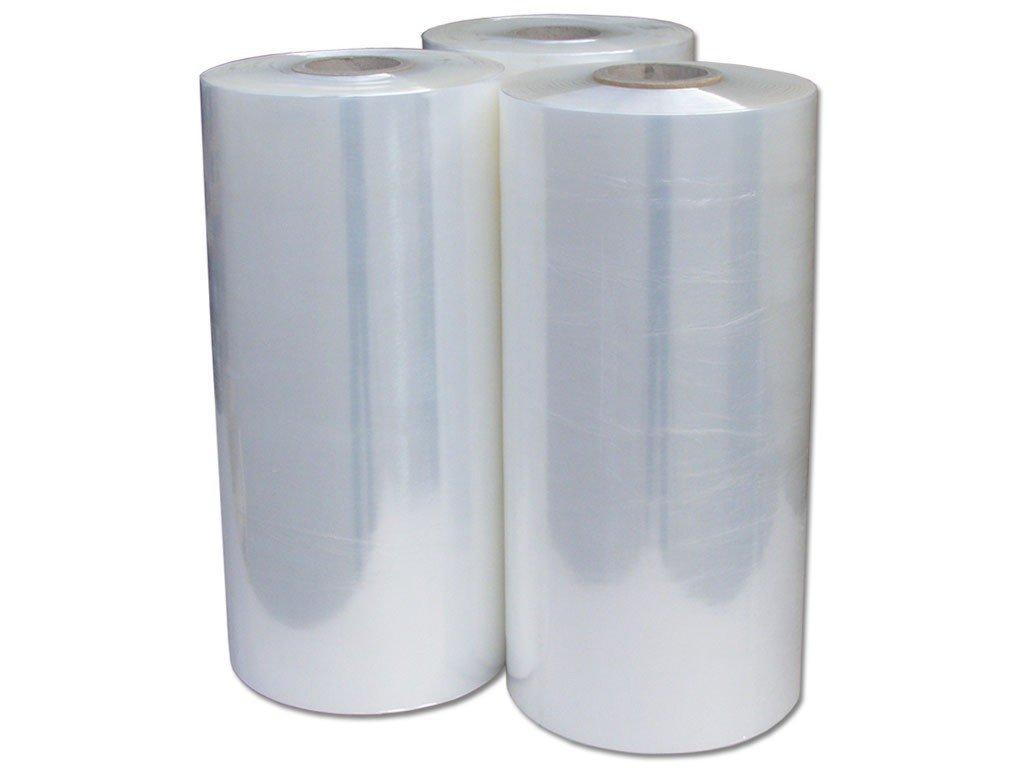 Strojní stretch fólie 500 / 15 µm, transparent, 180% průtažná