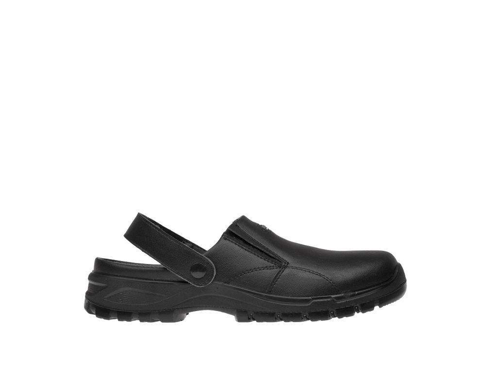 BENNON obuv BLACK OB SLIPPER