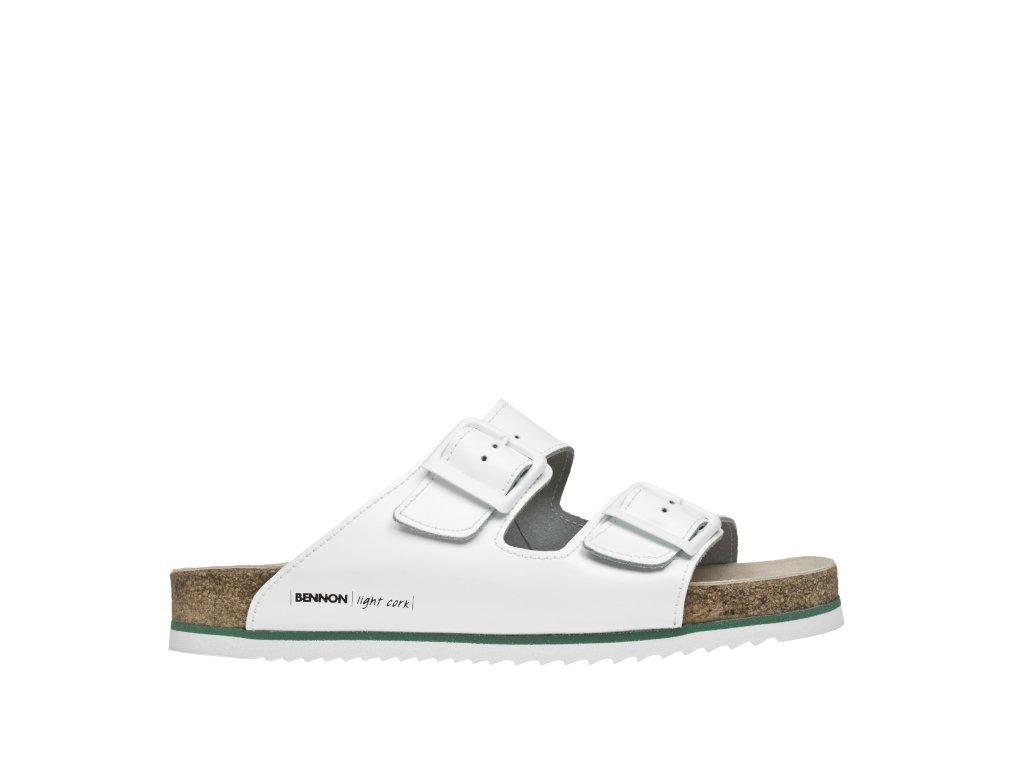 BENNON obuv WHITE HORSE SLIPPER