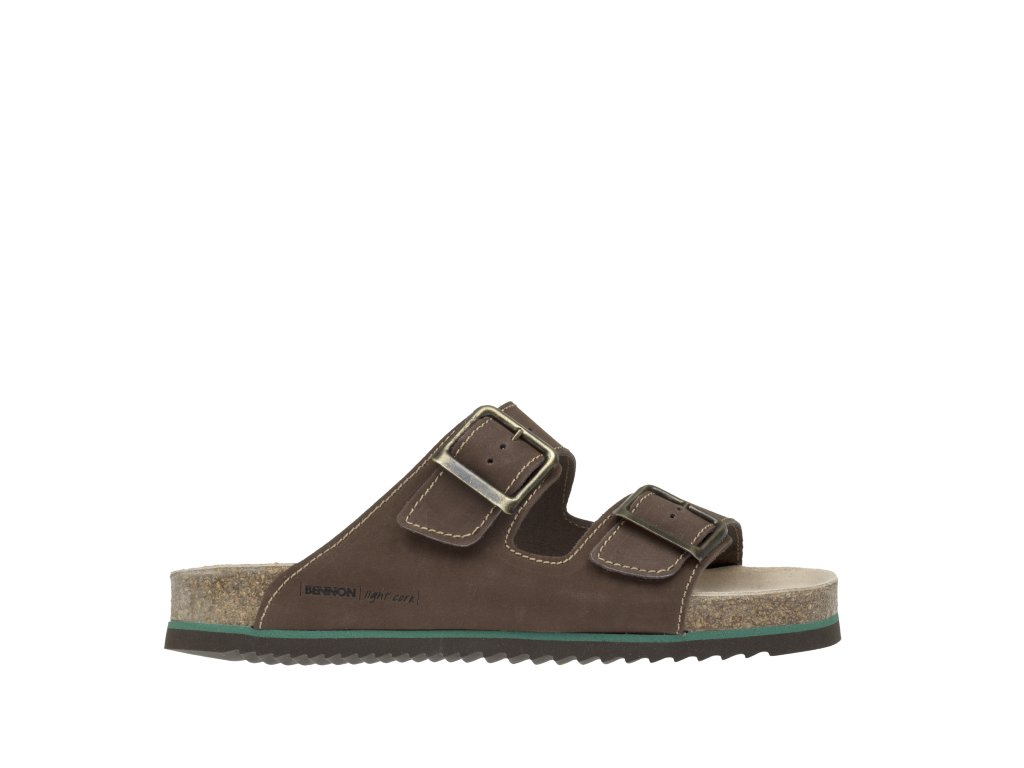 BENNON obuv BROWN BEAR SLIPPER