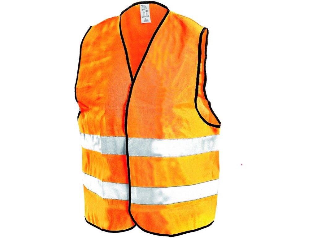 Reflexní vesta GUSTAV, oranžová