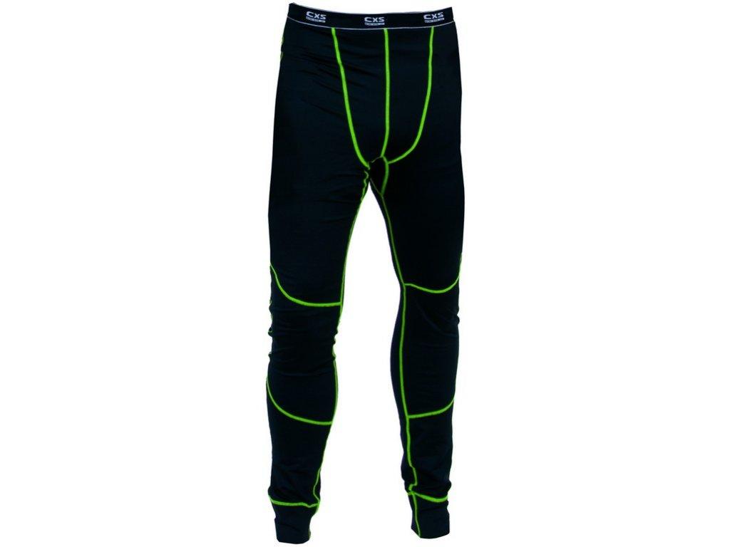 Pánské funkční spodky REWARD, černo-zelené