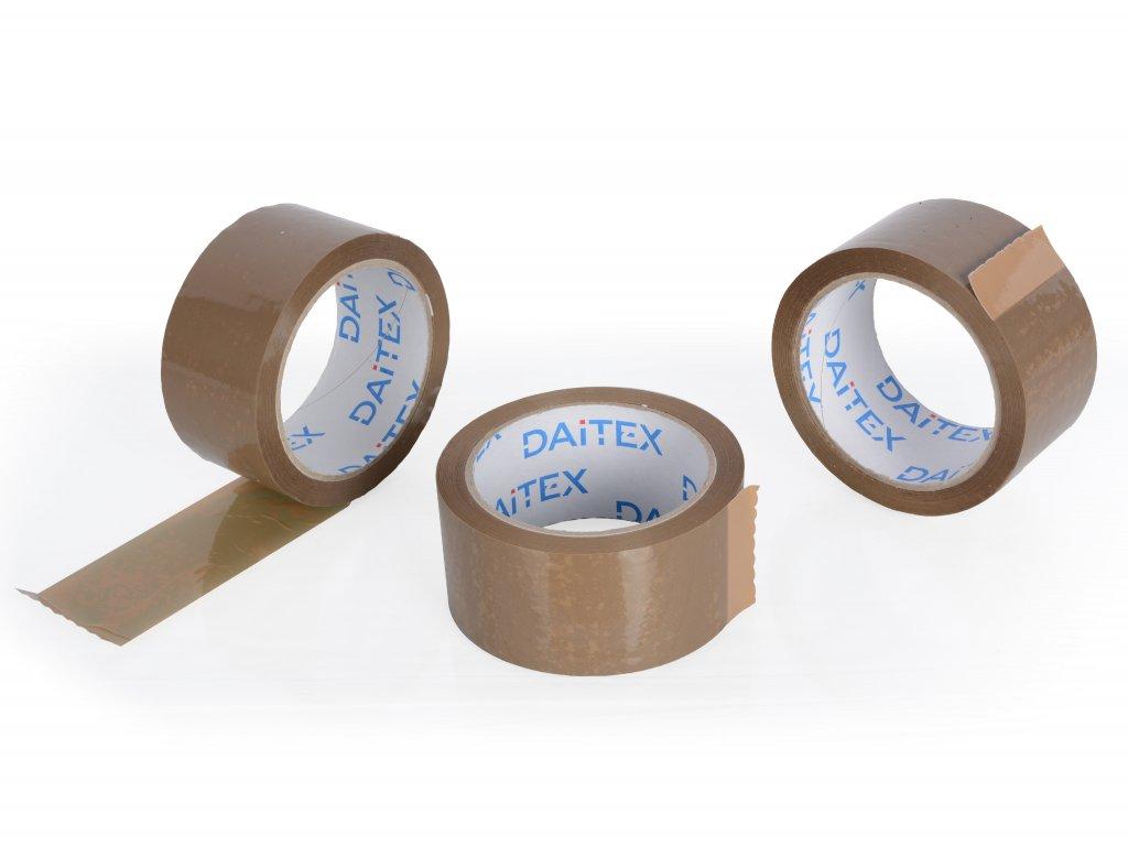 Lepící páska 75mm/66m hnědá HAVANA Hot melt