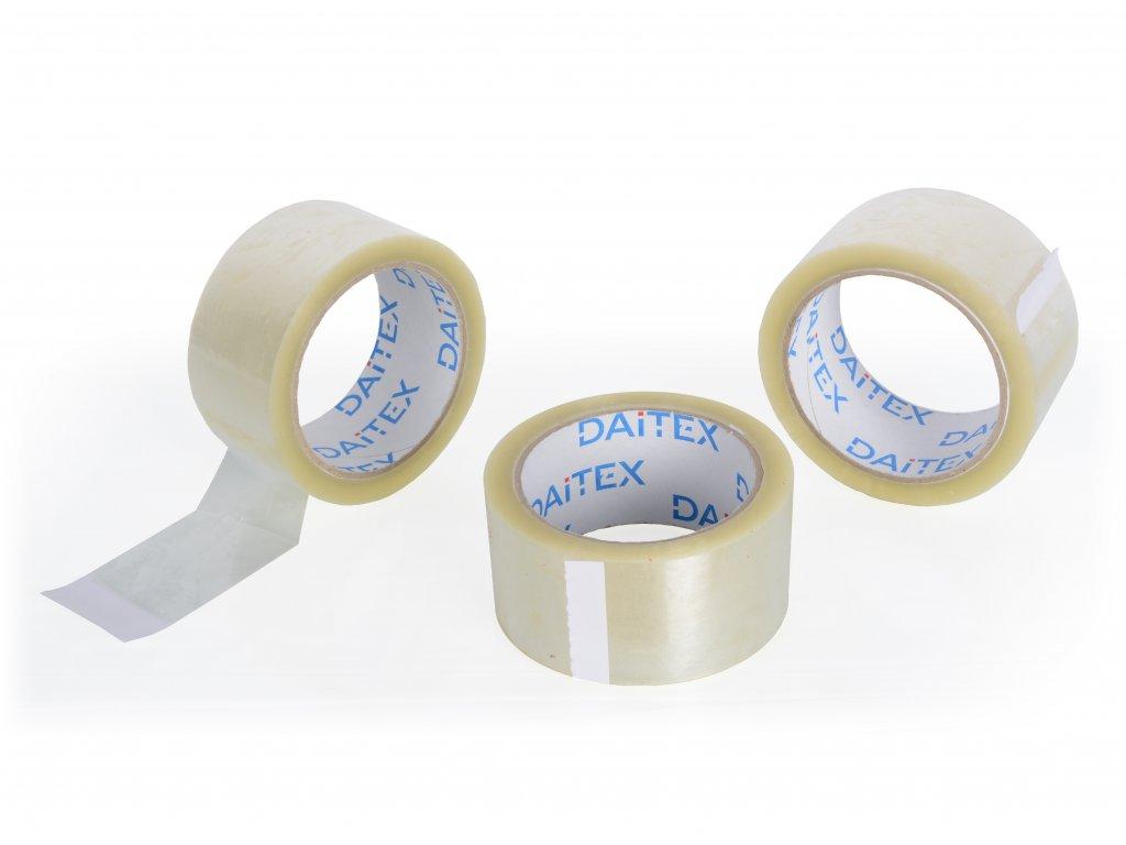 Lepící páska 75mm/66m transparentní Hot melt