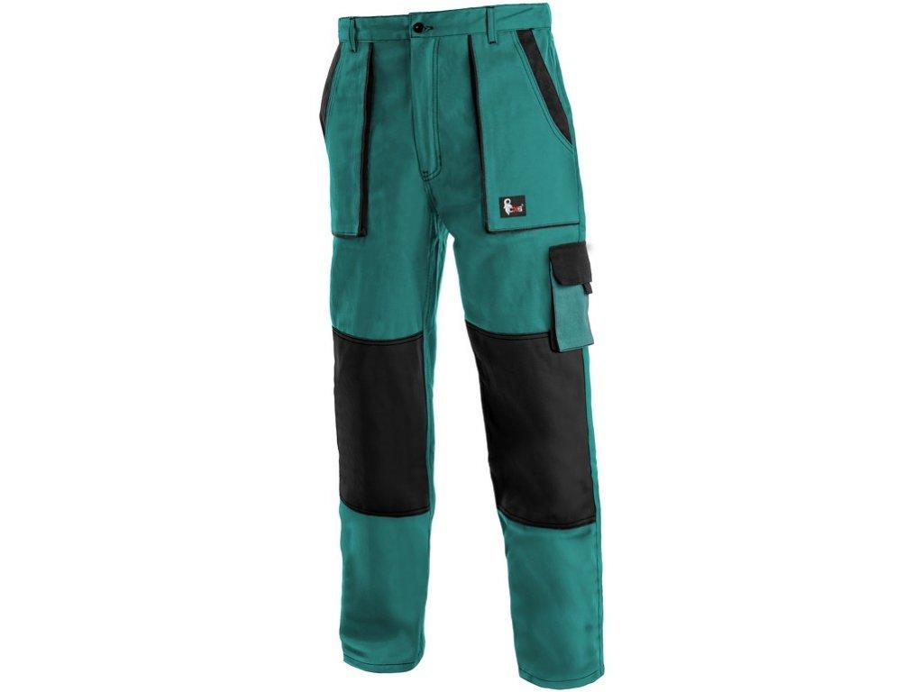 Kalhoty do pasu CXS LUXY JOSEF, pánské, zeleno-černé
