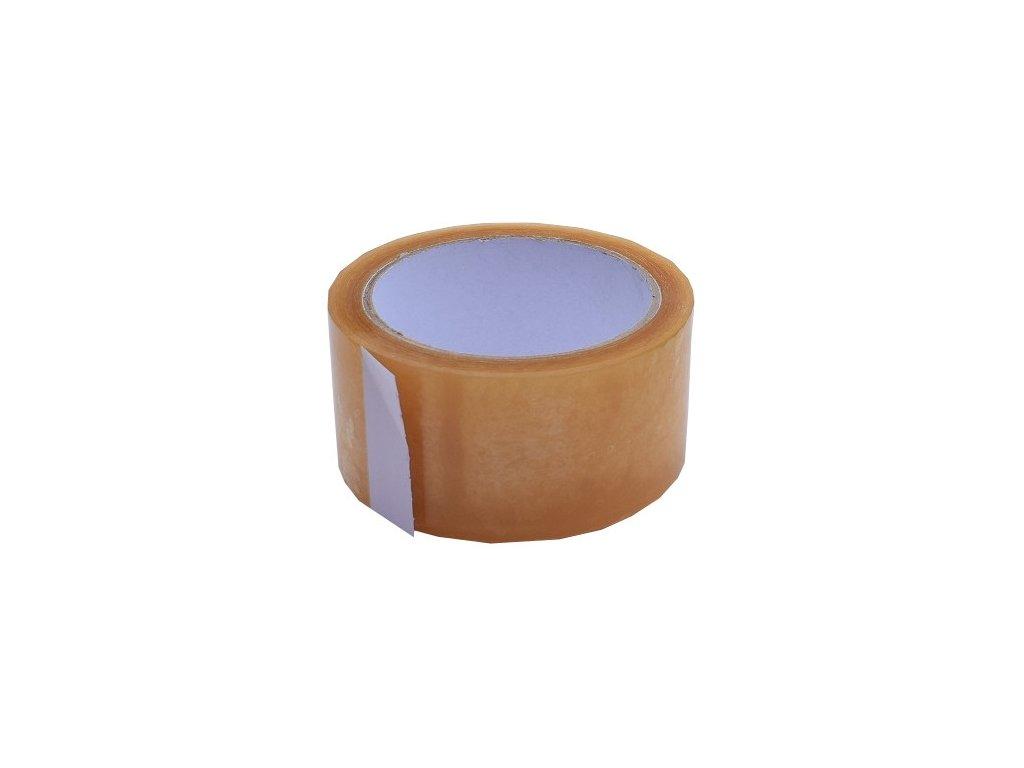 Lepící páska 75mm/66m transparentní Solvent