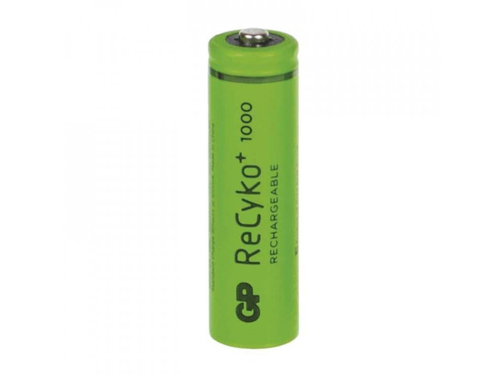 Baterie GP RECYKO AAA 1000, nabíjecí mikrotužka