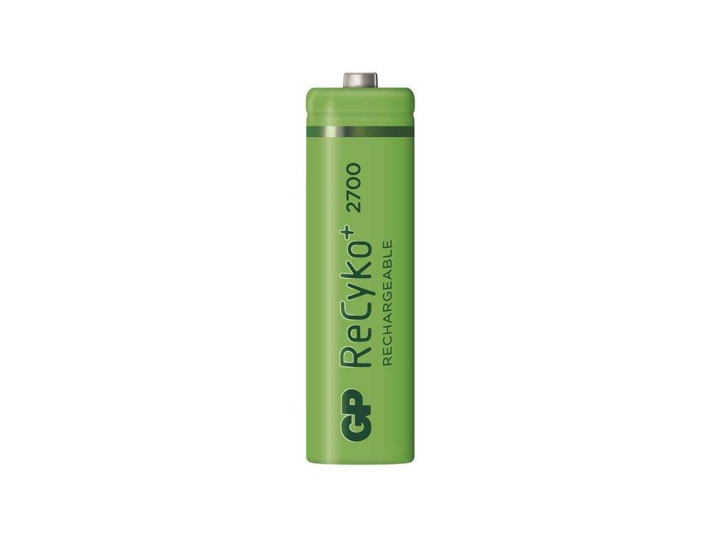 Baterie GP RECYKO AA 2700, nabíjecí tužková