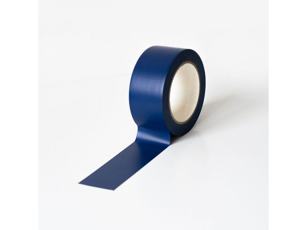 Podlahová vyznačovací páska 50 mm x 33 m - modrá