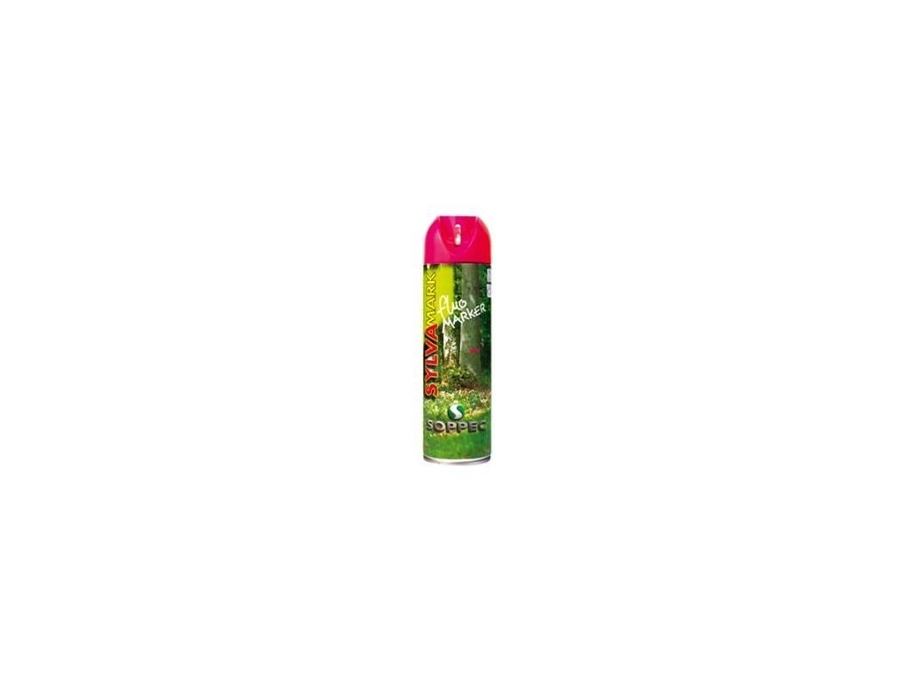 Značkovací sprej na dřevo Fluo Marker, růžová