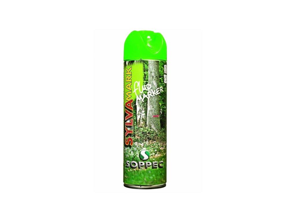 Značkovací sprej na dřevo Fluo Marker, zelená
