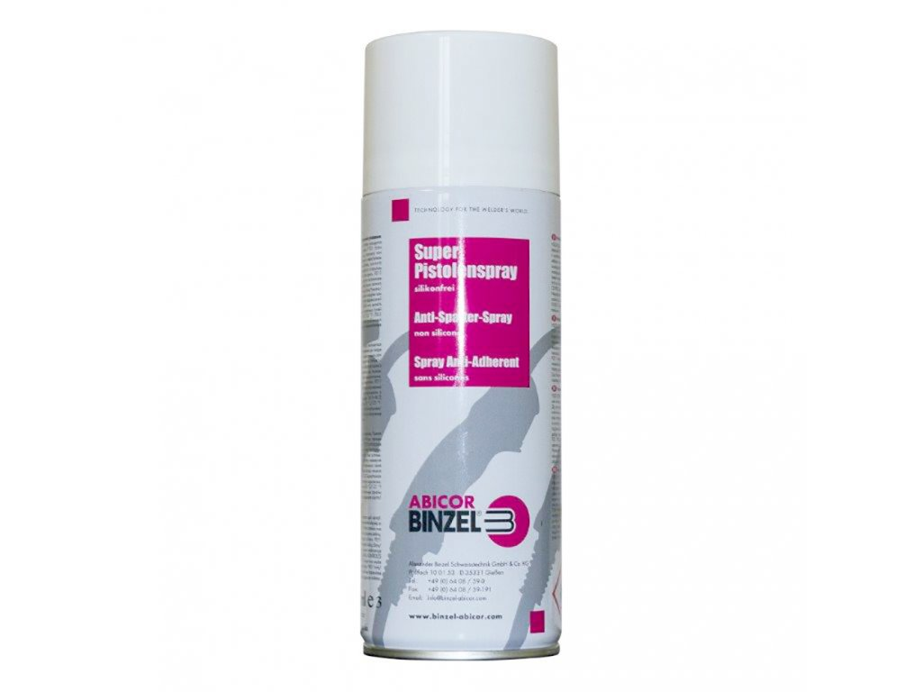 Spray bezsilikonový 400ml, na ochranu svářecích hubic, BINZEL