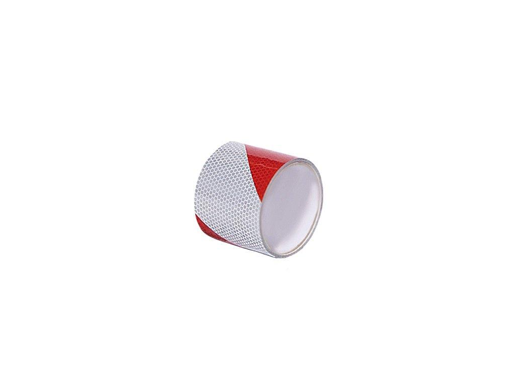 50mmX10m reflexni paska cerveno bila daitex