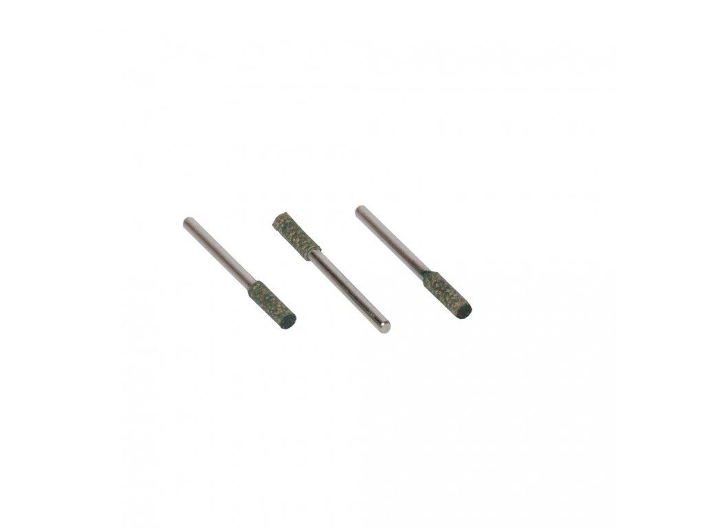 Leštící tělísko 4x13x3mm zelená K120