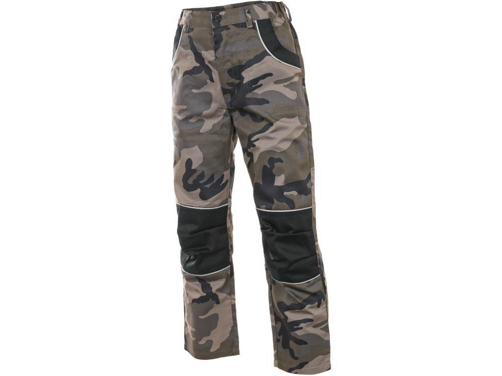 Kalhoty WOODY, dětské, maskáčové