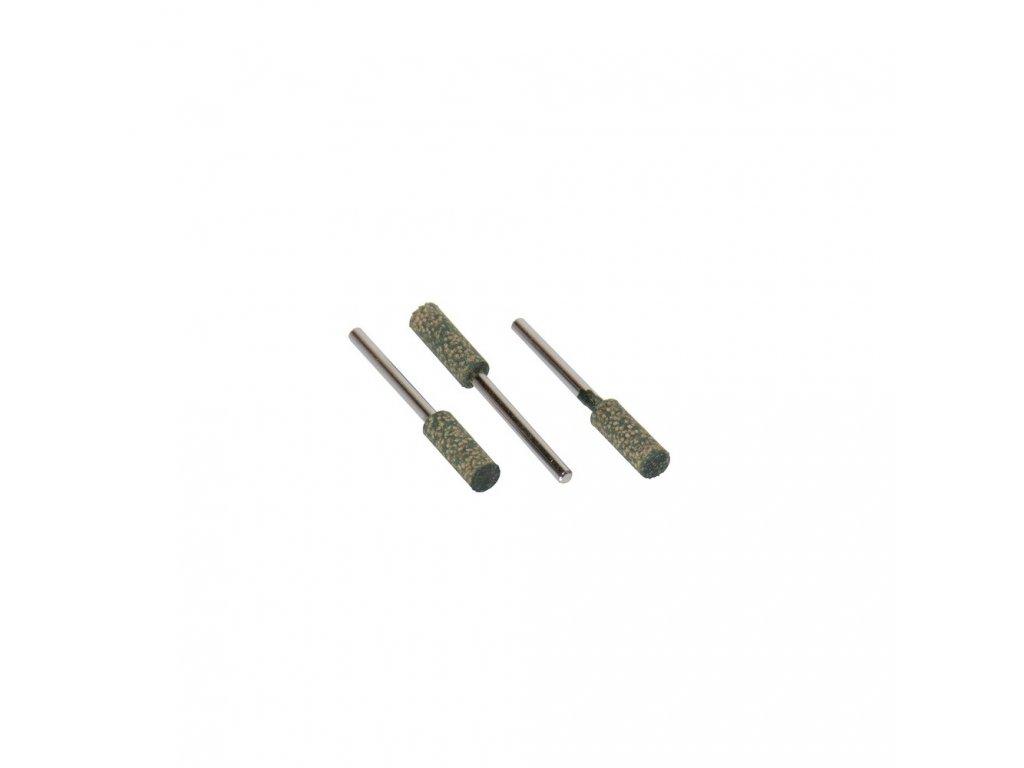Leštící tělísko 6x17x3mm zelená K120