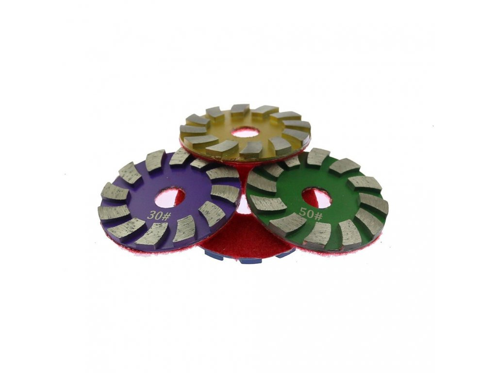 Hrubovaci diamantove kotouce s upnutim na suchy zip Daitex5