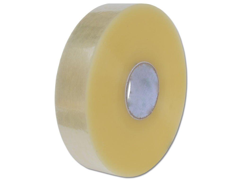 Lepící páska strojní 75mm/990m transparentní Hot melt