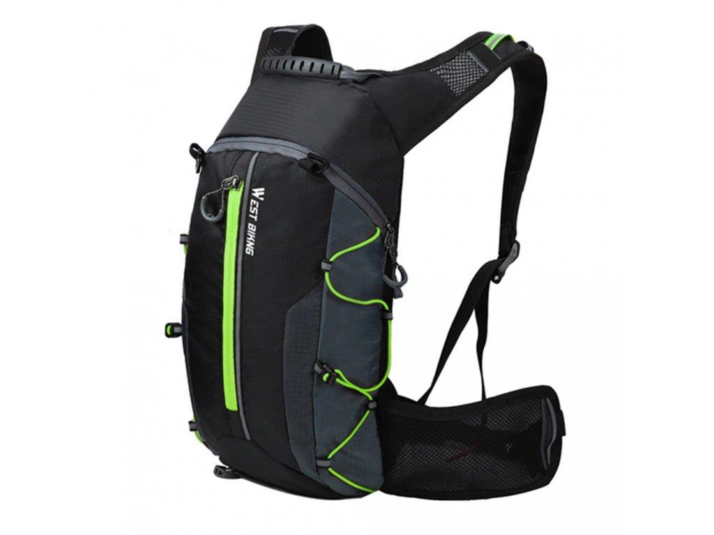 batoh ciklo zeleny Daitex3