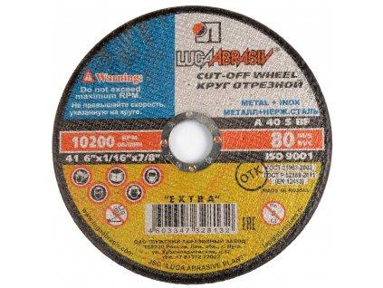 Řezný kotouč LUGA ABRASIVE 115 x 0,8 x 22,23mm