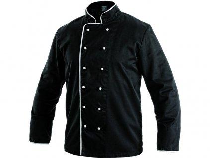 Kuchařský rondon RADIM, černo-bílý