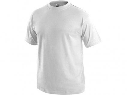 Tričko s krátkým rukávem DANIEL, bílé