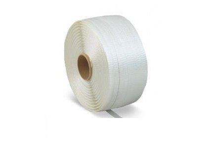 Páska PES polyesterová textilní, 16mm, 850m, příčně pletená