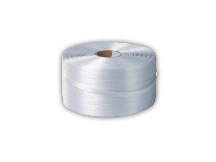 Páska PES polyesterová textilní, 16mm, 850m, podélně pletená