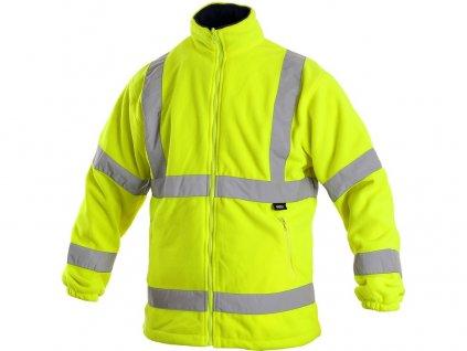 Pánská výstražná bunda PRESTON, žlutá
