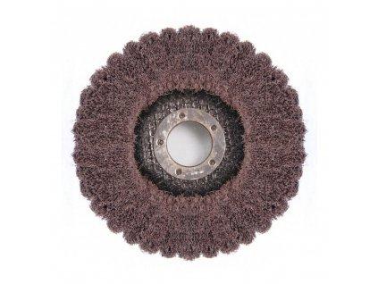 Brusný lamelový kotouč na kov netkaná textilie MED 125x22,2mm