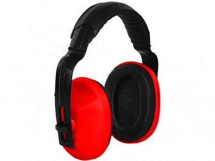 Mušlové chrániče sluchu EP106, červené