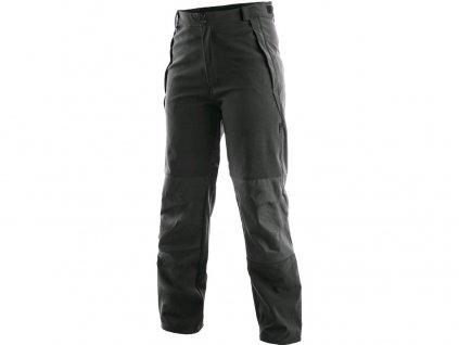 Kalhoty BOSTON, softshell, unisex, černé