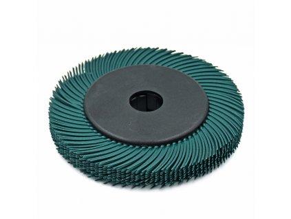 Radiální štětinový disk sada 10ks 150x3x25mm zelený